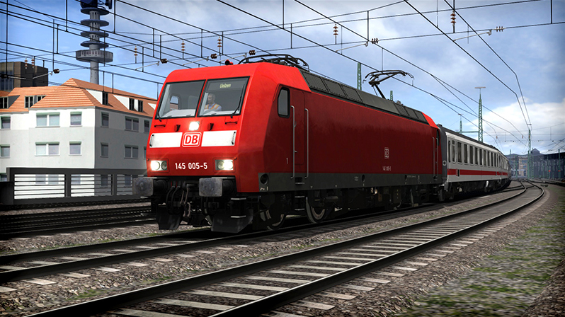 DB BR 145 Loco Add-On