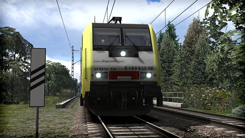 Dispolok BR 189 Loco Add-On