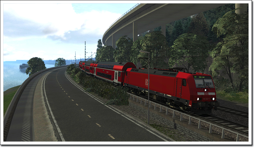 West Rhine Cologne - Koblenz Route Add-on