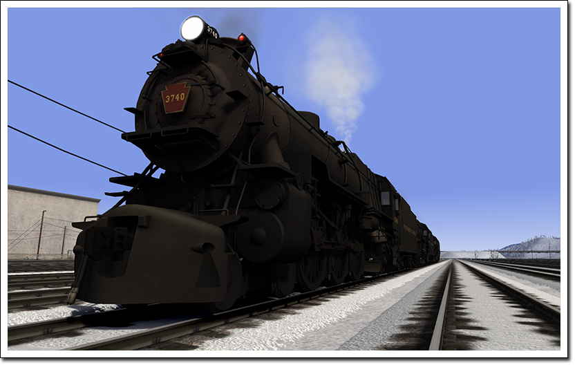 PRR K4 Steam Locomotive