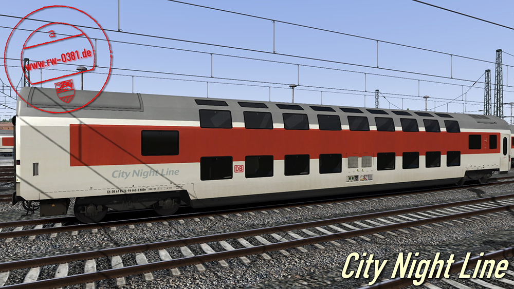 Railworks Downloadpack Personenwagen Vol. 3
