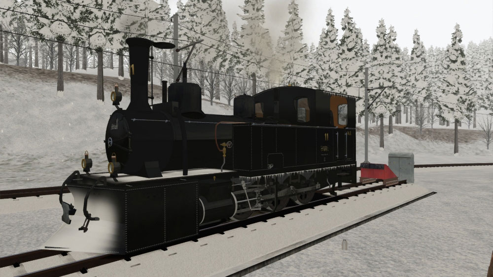 "RhB Steam Locomotive G 3/4 ""Heidi"""