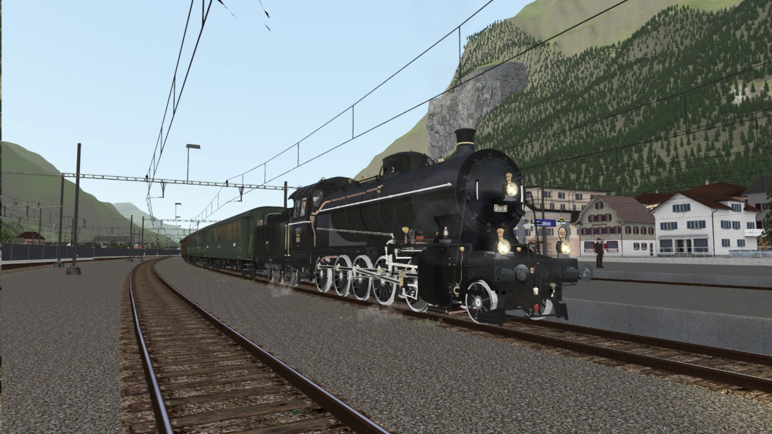 SBB C 5/6 Steam Locomotive