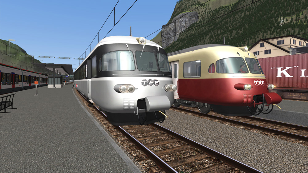 "TEE - Trans Europ Express & the ""Gray Mouse"""