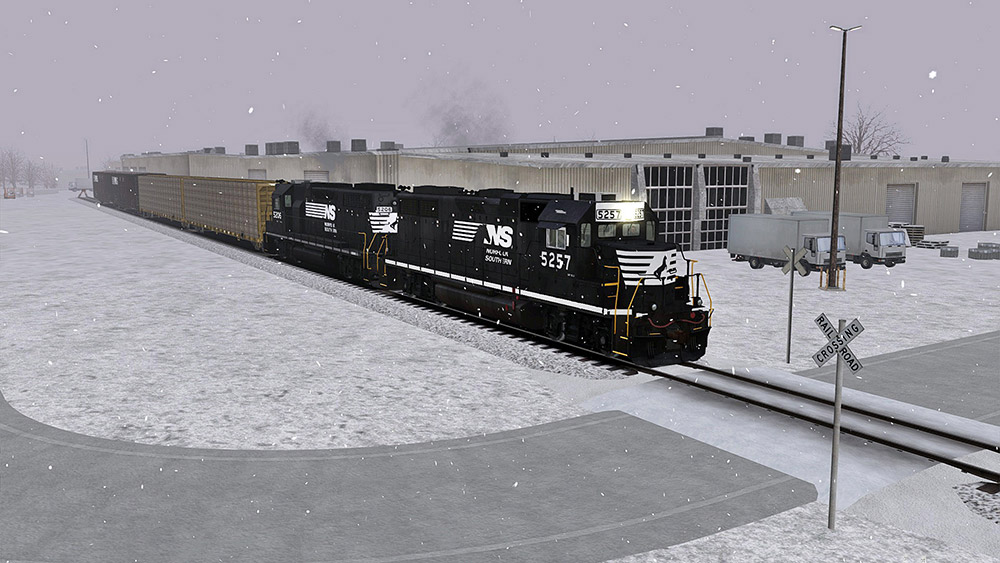 Norfolk Southern N-Line Route Add-On