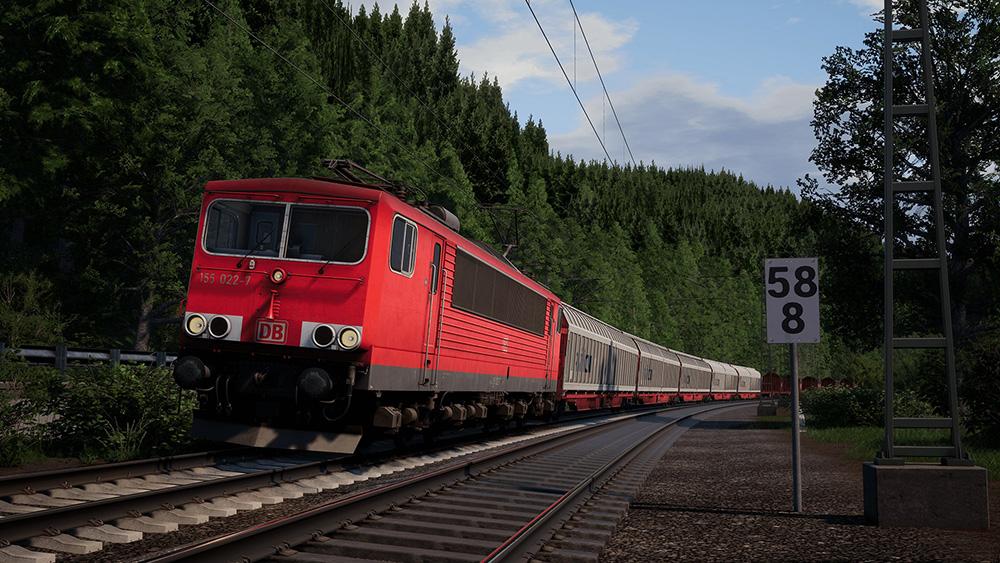 Train Sim World®: DB BR 155 Loco Add-On | Aerosoft US Shop