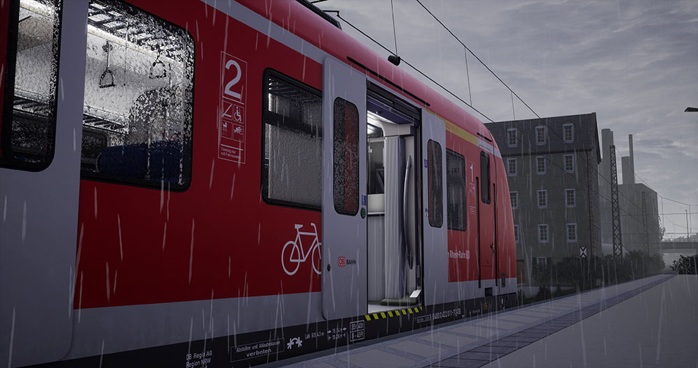 Train Sim World®: Rhein-Ruhr Osten: Wuppertal - Hagen Route Add-On