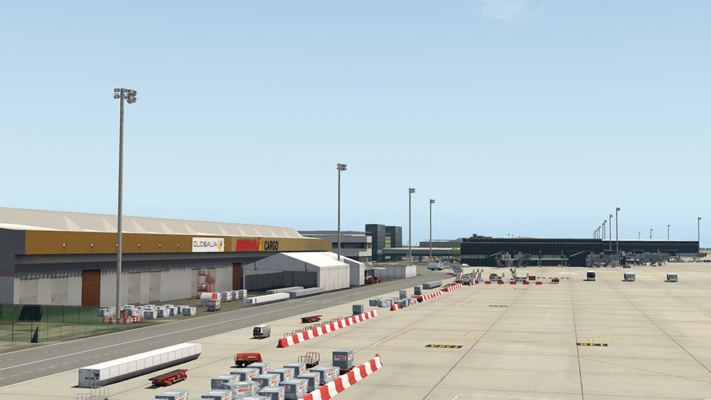 Airport Barcelona XP