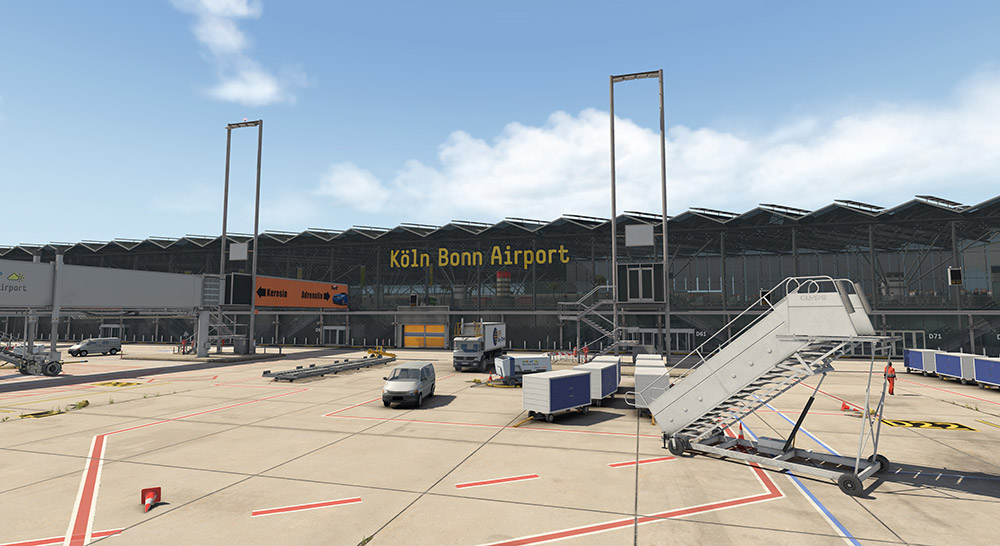 Airport Cologne/Bonn XP