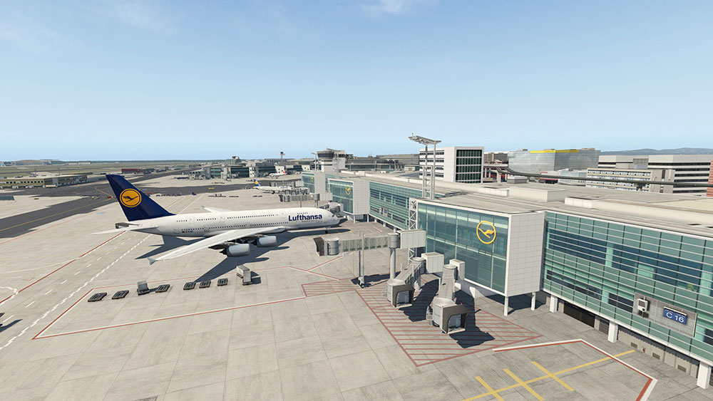 Airport Frankfurt XP