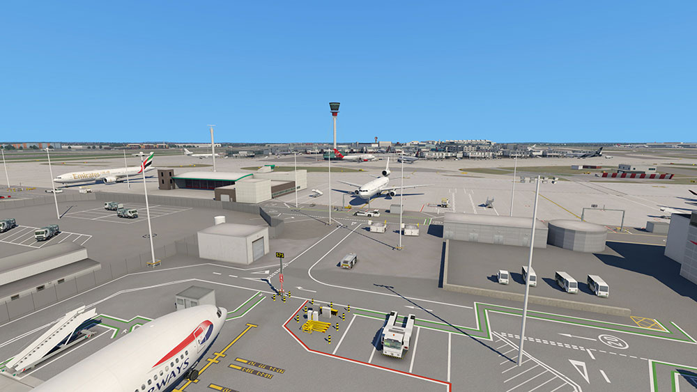Airport London Heathrow XP
