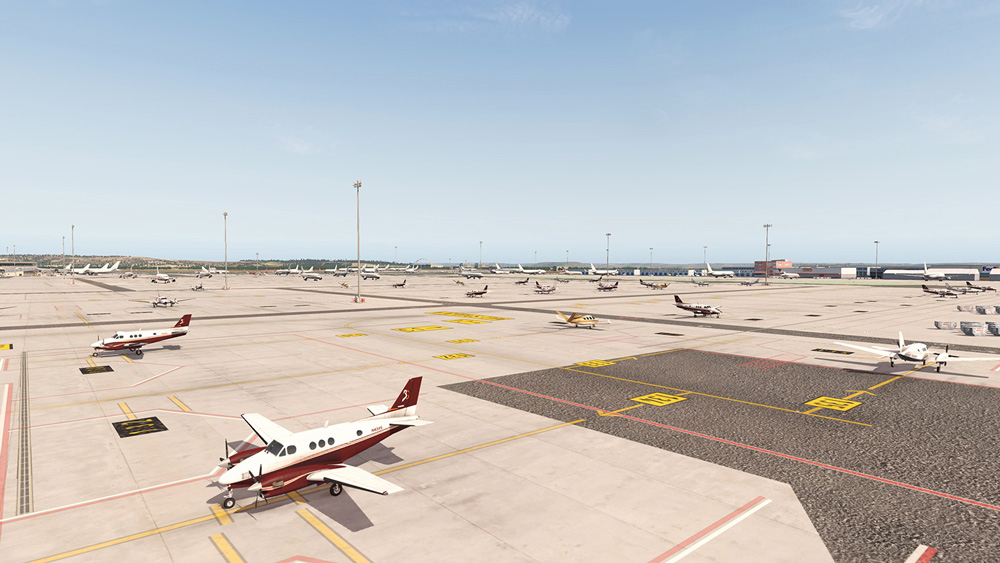 Airport Madrid XP