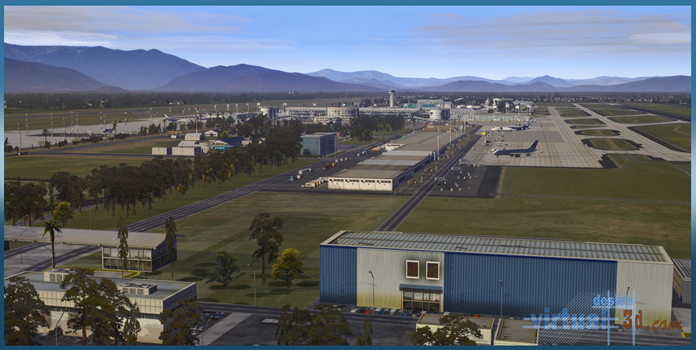 Airport SCEL Santiago International 2.0 XP