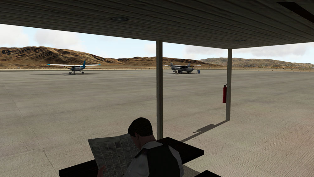 KTNP Airport - Twentynine Palms XP