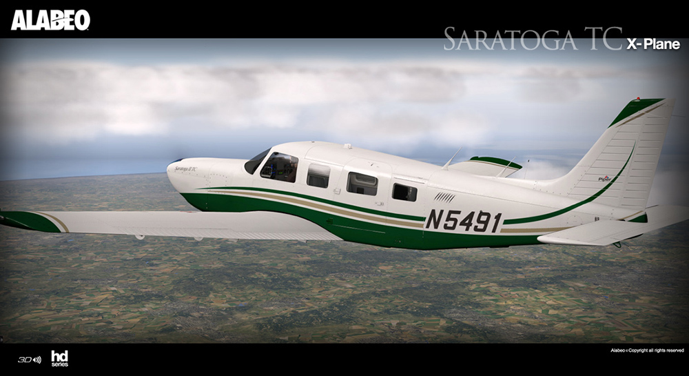 Alabeo - PA32 Saratoga II TC XP