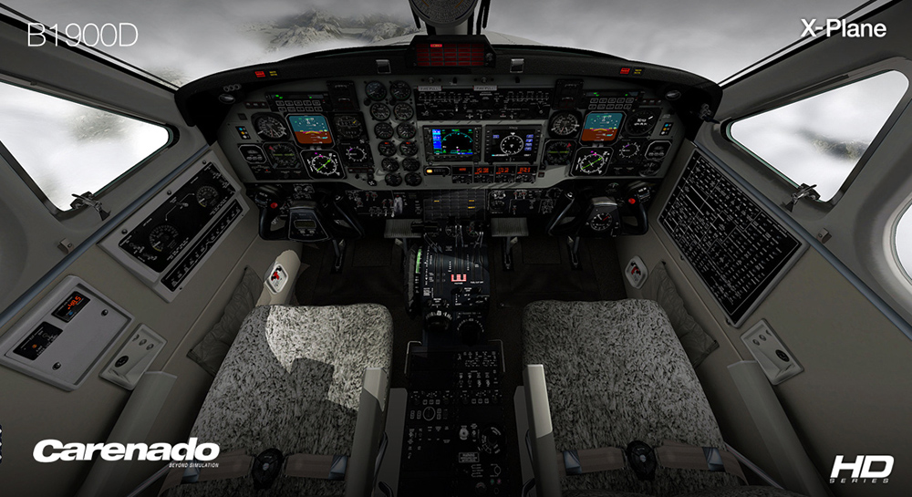 Carenado - B1900D (XP10)
