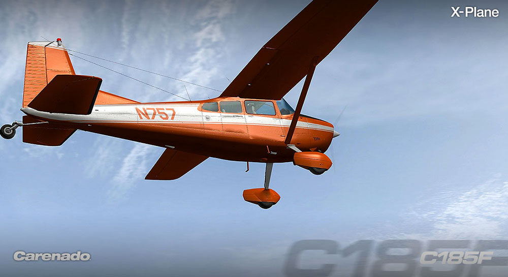 Carenado - C185F Skywagon (XP)
