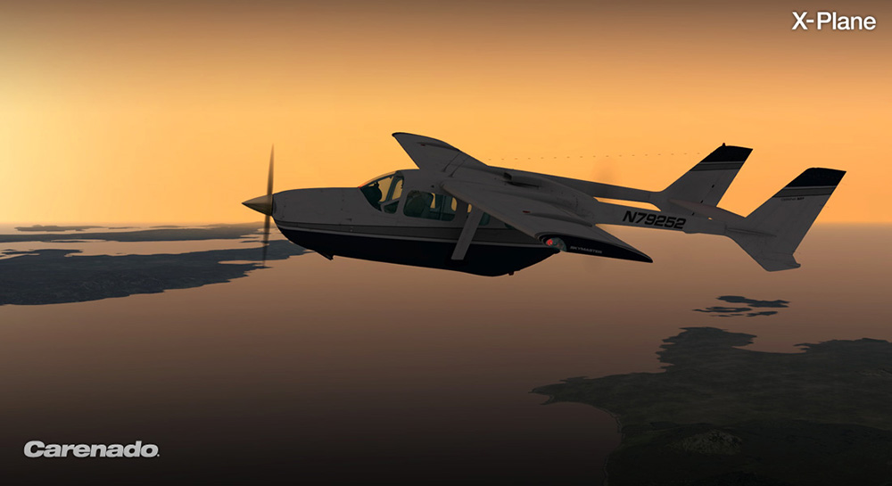 Carenado - C337H Skymaster - HD Series (XP)