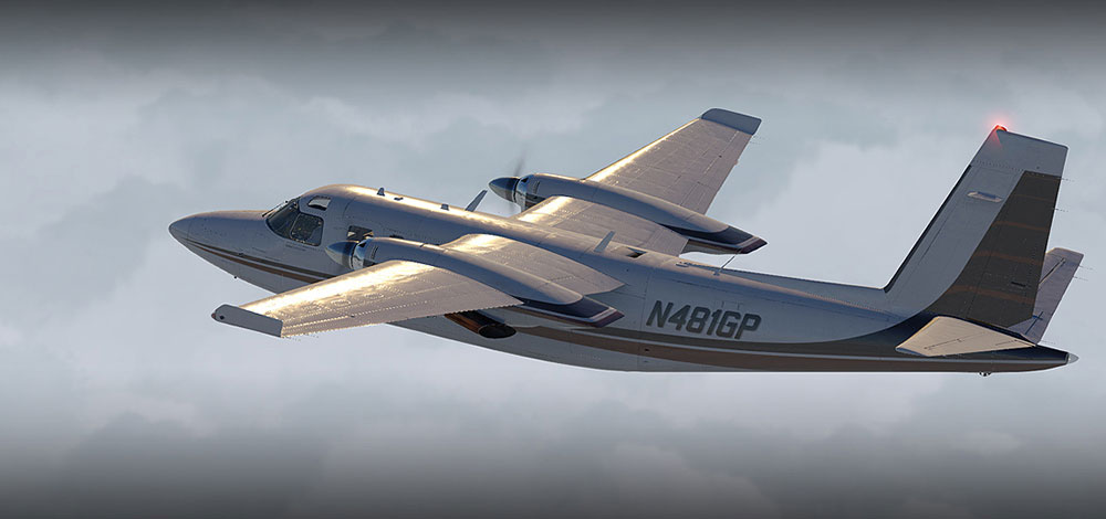 Carenado - 690B Turbo Commander (XP11)