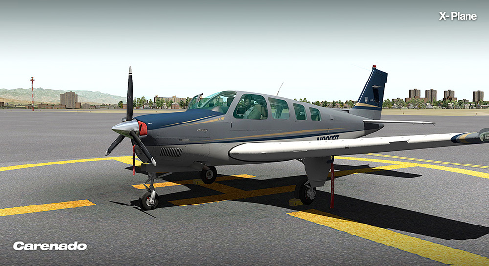 Carenado - A36 Bonanza (XP)