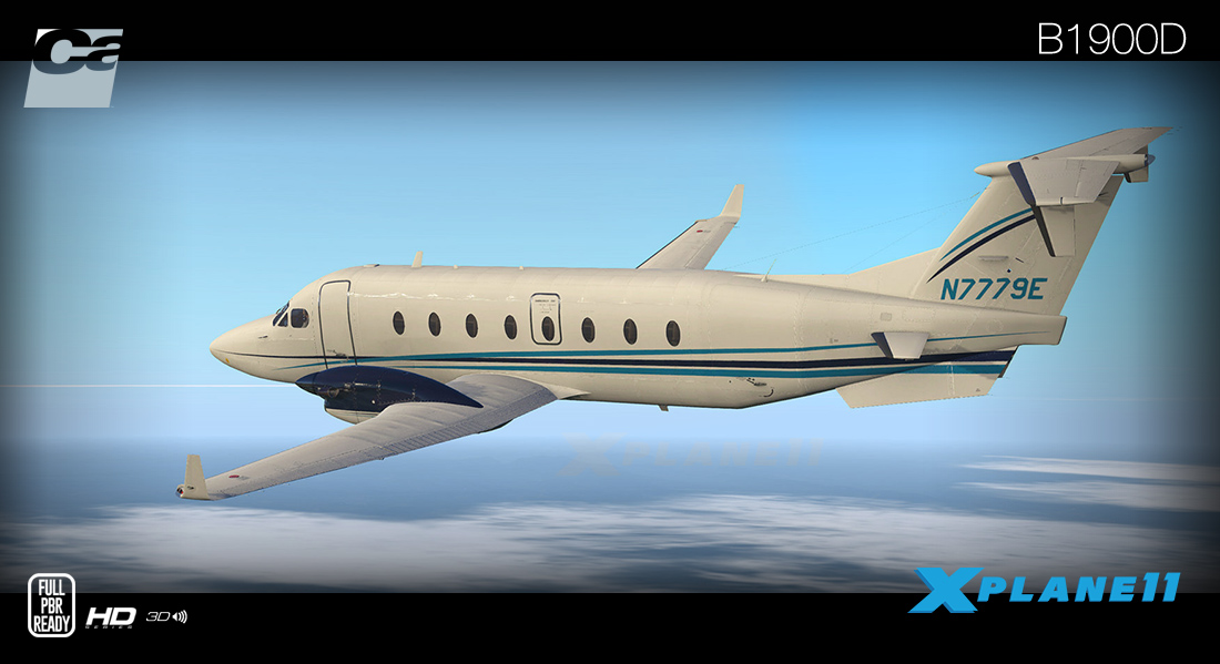Carenado - B1900D (XP11)