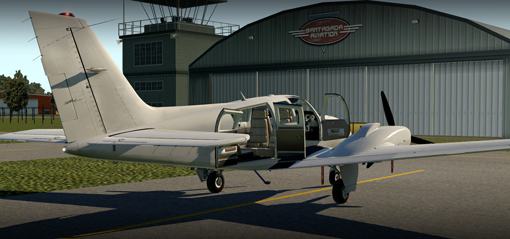 Carenado - B58 Baron (XP11)