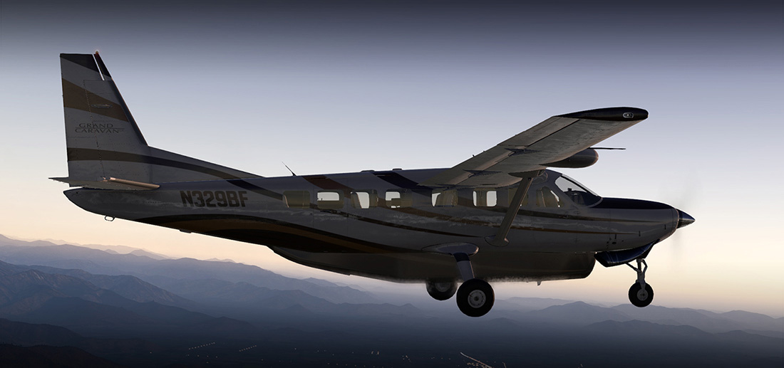 Carenado - C208B Grand Caravan Ex G1000 (XP11)