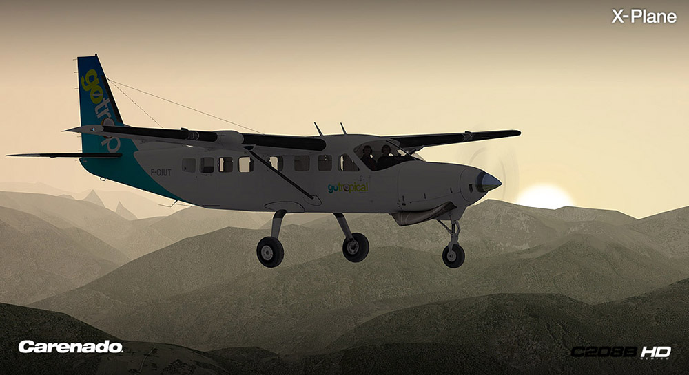 Carenado - C208B Grand Caravan - HD Series (XP)