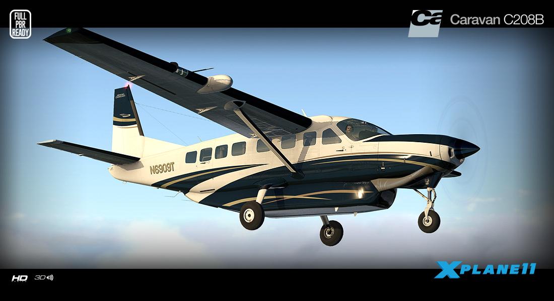 Carenado - C208B Grand Caravan - HD Series (XP11) | Aerosoft US Shop