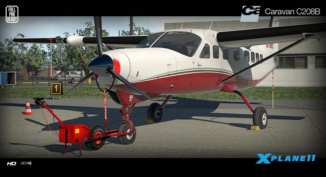 Carenado - C208B Grand Caravan - HD Series (XP11) | Aerosoft