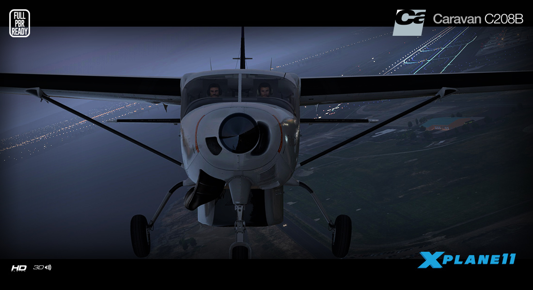 Carenado - C208B Grand Caravan - HD Series (XP11)