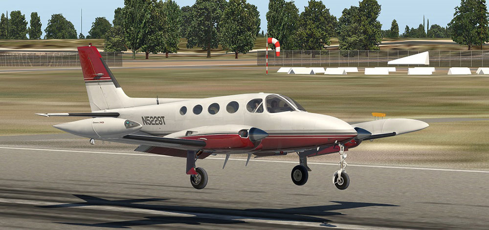 Carenado - C340 II (XP11)