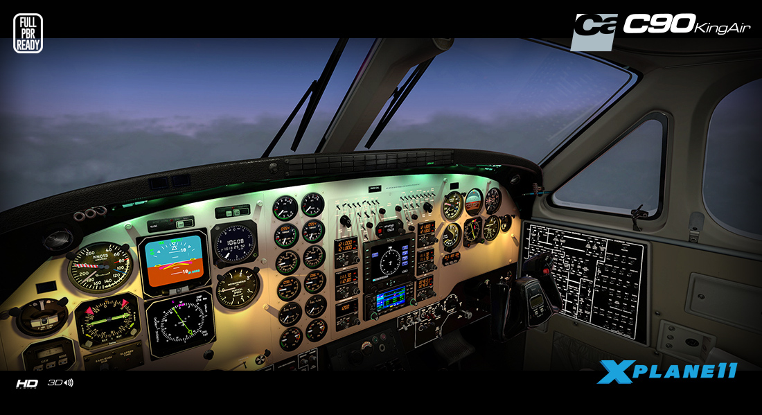 Carenado - C90B King Air - HD Series (XP11)