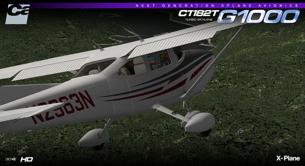 Carenado - CT182T Skylane G1000 (XP)