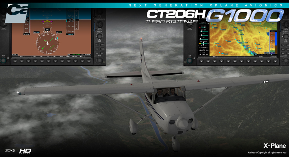 Carenado - CT206H Stationair G1000 - Extension Pack (XP)