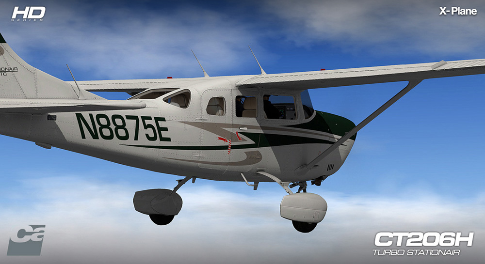Carenado - CT206H Stationair - HD Series (XP)