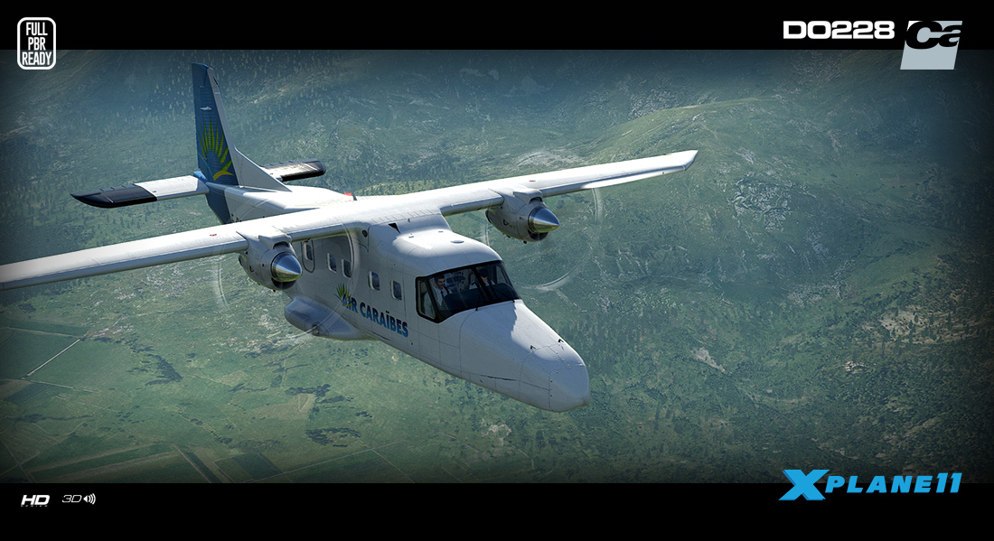 Carenado - DO228 100 - HD Series (XP11) | Aerosoft Shop
