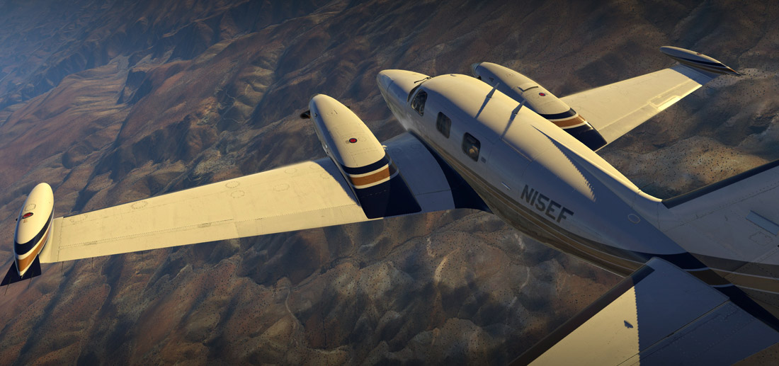 Carenado - PA31T Cheyenne II (XP11)