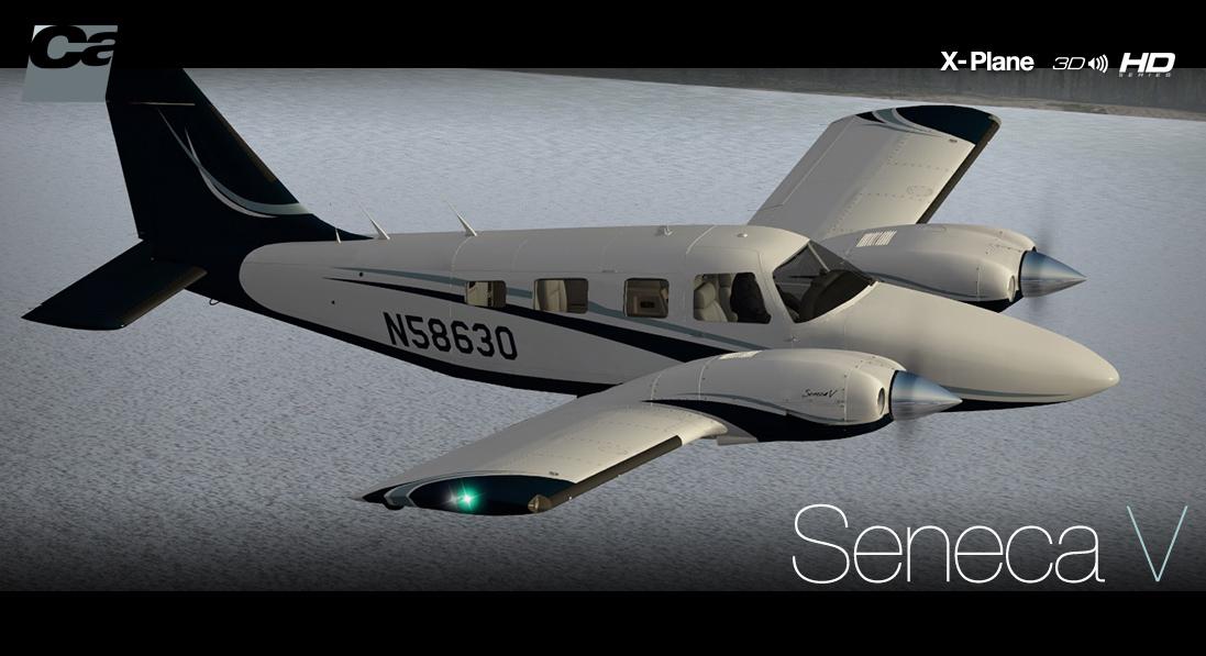Carenado - PA34 Seneca V - HD Series (XP) | SimWare Shop