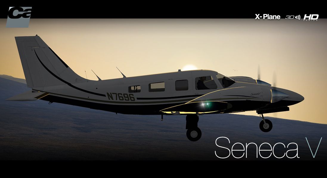 Carenado - PA34 Seneca V - HD Series (XP)