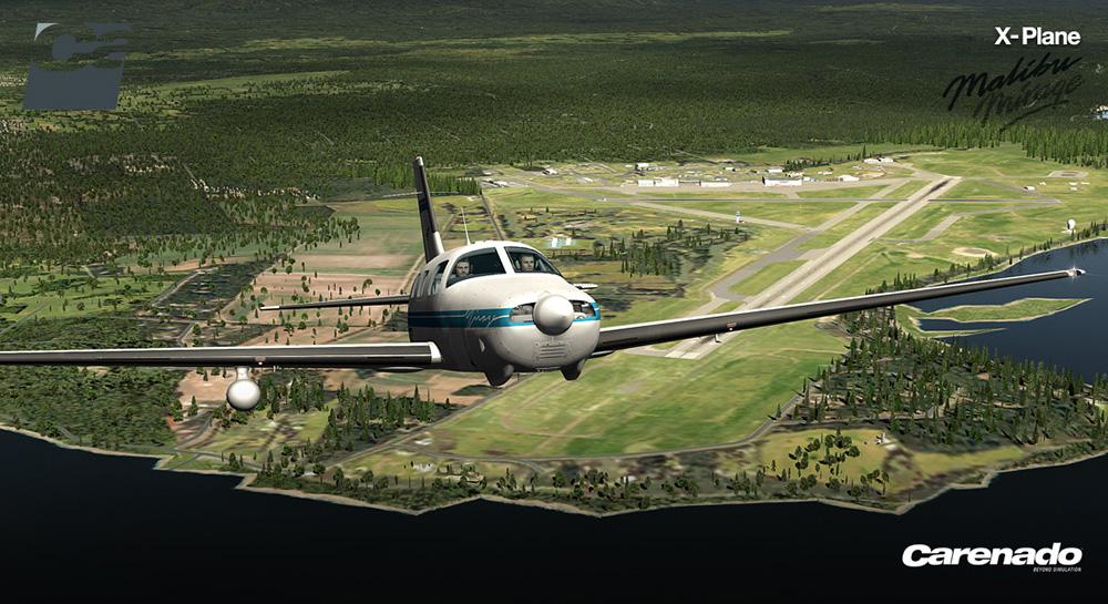 Carenado Pa46 Malibu Mirage Hd Series Xp Aerosoft