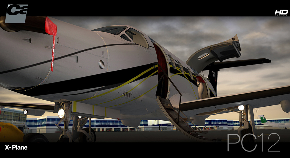 Carenado - PC12 - HD Series (XP10)