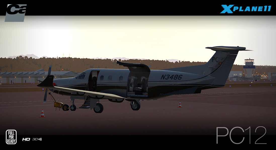 Carenado - PC12 - HD Series (XP11)