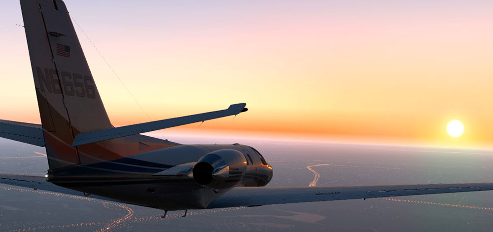Carenado - S550 Citation II (XP11)
