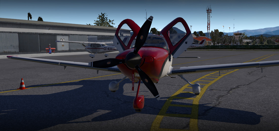 Carenado - SR22 GTSx Turbo (XP11)