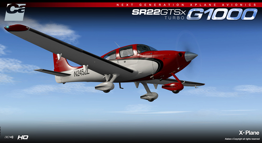 Carenado - SR22 GTSX Turbo - HD Series (XP)