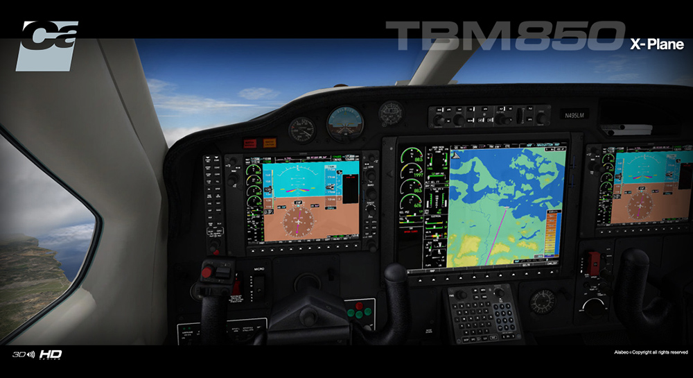 Carenado -TBM 850 - HD Series (XP)
