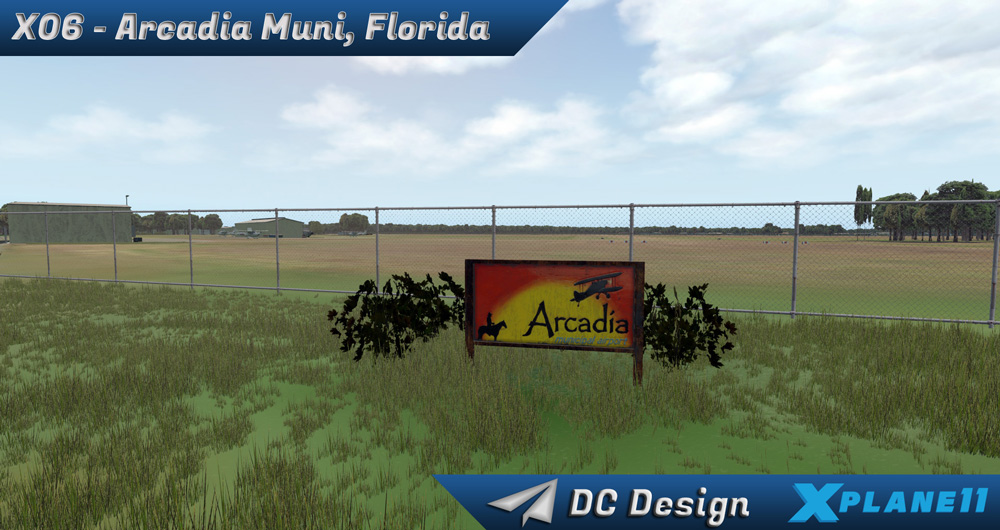 DC Scenery Design - X06 - Arcadia Municipal Airport XP