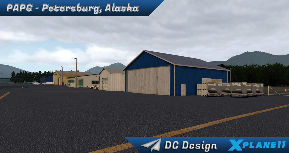 DC Scenery Design - PAPG - Petersburg James A. Johnson Airport XP