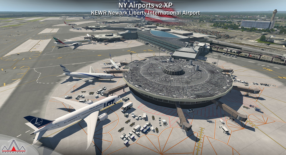 New York Airports V2 XP (KEWR, KLDJ, KCDW)